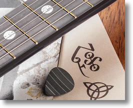 Guitar Picks Made From Old Vinyl Records