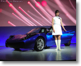 Toray&#039;s Carbon Fiber Electric Sports Car: Light Weight, Heavy Performance