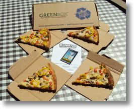 Green Box Pizza Box