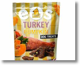 Plato EOS Turkey & Pumpkin Dog Treats