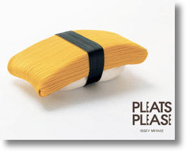 Sushi Look Adds Taste to Issey Miyake's 'Pleats Please' Clothing Line