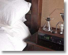 Coffee Machine Alarm Clock
