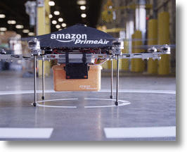 This prototype delivery drone will be able to drop off packages with much greater accuracy thanks to new GPS technology.