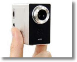 Mini Video Projector Shines 45-inch Display On Any Wall
