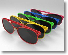 Design sunglasses, prevent surfer's eye!