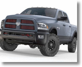 "One Of A Kind ""Man of Steel"" Dodge RAM Truck Auctioned Off For Charity"