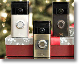 Ring Video Doorbell Smart Security System image via Facebook