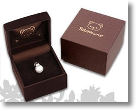 San-X Goes Upmarket with Rilakkuma Elegant Pearl Pendant