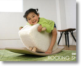 Rocking Sheep Updates Classic Rocking Horse, Adds Fleecy Comfort