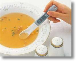 Electronic Salinity Monitor Spoon Terminates Excessive Salt Intake