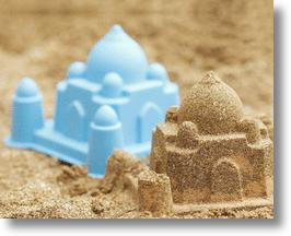 Taj Mahal Sand Castle and Mold