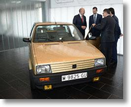 Spanish King's First Car Enjoys A Royal Restoration