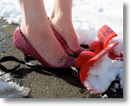 Snow Shovel Shoes