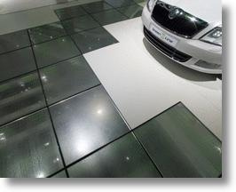 Skoda Energy Producing Tiles