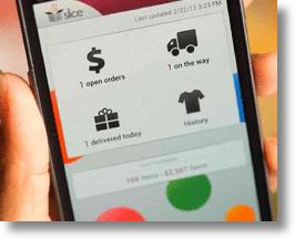 Slice Online Shopping Trackking App