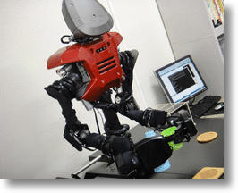 Japanese Robot Surfs the Web, Pour Drinks, Asks Whereabouts of Sarah Connor