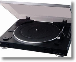 Sony's New PS-LX300USB Turntable