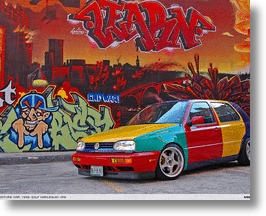 Clowning Around: The Strange Tale Of The Volkswagen Golf Harlequin