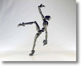 Poseable Artist's Figure image via Stickybones Facebook