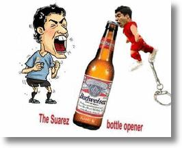 Chinese Internet Entrepreneurs List Luis Suarez Biting Bottle Opener Keychains