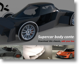design a supercar, earn big money!