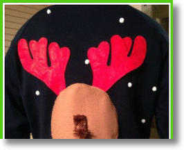 Ugly Naughty Christmas Sweaters That Are So Wrong