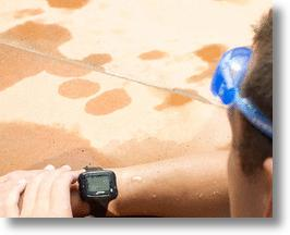 Swimsense: The Pedometer For Swimming