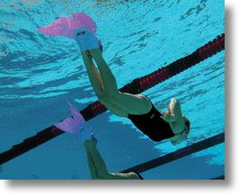 Finis Mermaid Swim Fin in Action