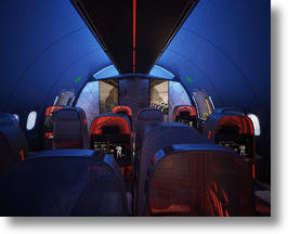Inside The Athlete's Plane