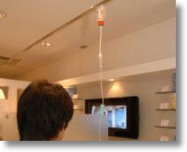 Japanese Clinic Offers Drop-In IV Drip Therapy