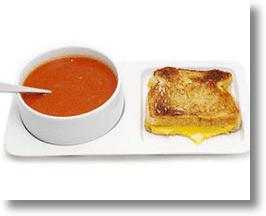 Soup and Sandwich Tray