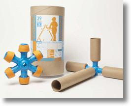 Recycle cardboard tubes into toys with Toobalink!