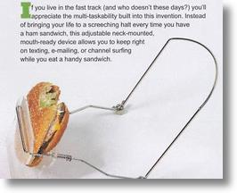 Hands-Free Sandwich Holder