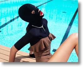 Chinese Facekini Fad Inspires French Fashion Mag Photoshoot