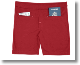 Clever Travel Companions Men's Underwear