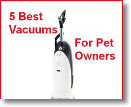 5 Best Vacuums for Pet Owners