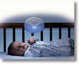 Voice Activated Crib Light