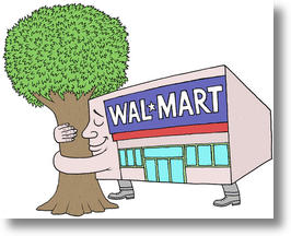 Walmart Presents its Eco Friendly Distribution Center