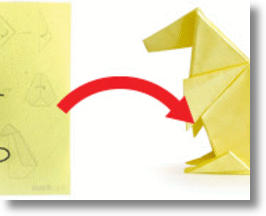 Origami Post-it Notes Fold Under Pressure