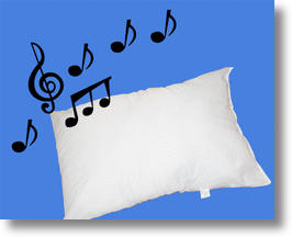 MP3/iPod Wireless Sound Pillow