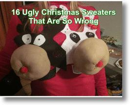Ugly Christmas Sweaters That Are Wrong