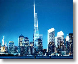 Freedom Tower Commences Its Ascent In Towering Over NYC's Skyline