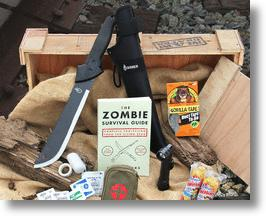 Zombie Survival Crate Contents