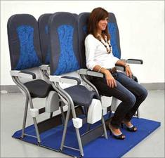 China's Spring Airlines Considers Installing Vertical Seats