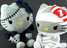 Sanrio Hello Kitty Monster Collection Introduces 5 Cute Scaredy Cats