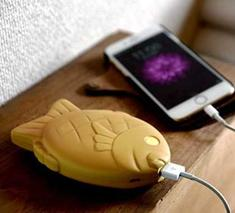 Fish-Shaped Mobile Battery Sparks Devices, Smiles & Appetites