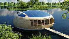 Eco-Friendly Floating House 'The WaterNest' Making Waves