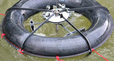 Hydro Power Plant Called 'Rotor' Is Made From A Simple Inner Tube