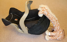 Bounceroo Giraffe Rocker Automatically Rocks Your Baby For You