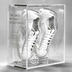 Sneakers Made from Recycled Carbon Emissions (image via NRG)